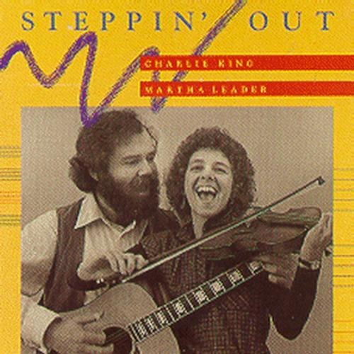Steppin' Out w/ Martha Leader - 1988 -- LP $5 SALE ITEM
