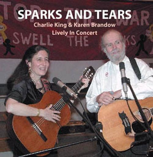 Sparks and Tears - 2003 -- CD $5 SALE ITEM