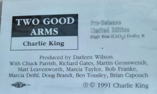 Two Good Arms - 1992 -- Cassette $5 SALE ITEM