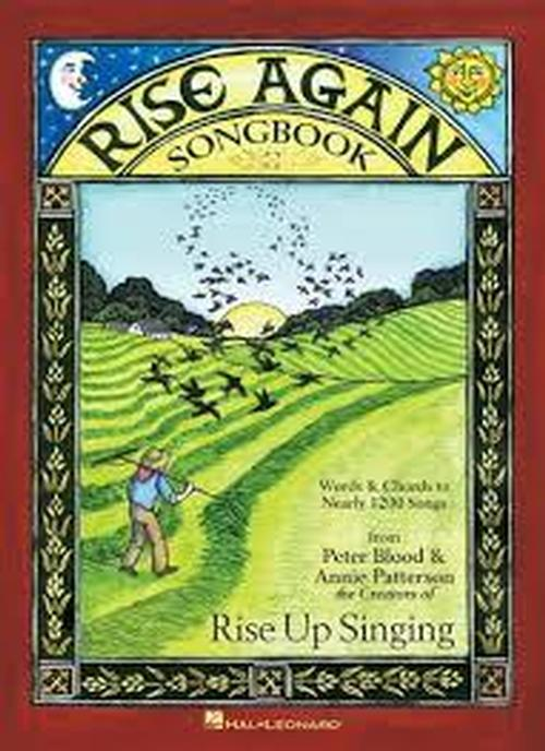 Rise Again Large Print - 9 x 12 Spiral Bound Songbook